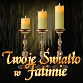 baner kwadratowy Światło Fatimskie